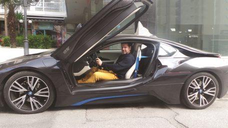 BMW i8 : Πρώτη Γεύση από το νέο ηλεκτροκίνητο πύραυλο!