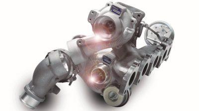 Toυρμπίνες κινητήρων – Υπερπλήρωση δύο σταδίων