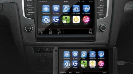 Το 2ης γενιάς σύστημα infotainment matrix στο νέο VW Passat