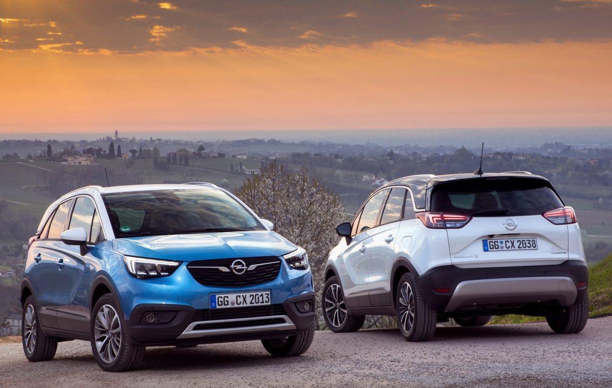 Δύο νέα SUV από την Opel: Crossland X & Grandland X