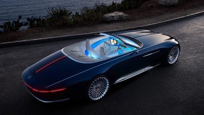 Mercedes Maybach 6 Cabriolet…Υπερπαραγωγή!
