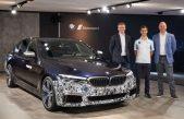 """Το όχημα δοκιμών """"Power BEV"""" του BMW Group εφοδιάζεται με τρεις ηλεκτροκινητήρες"""