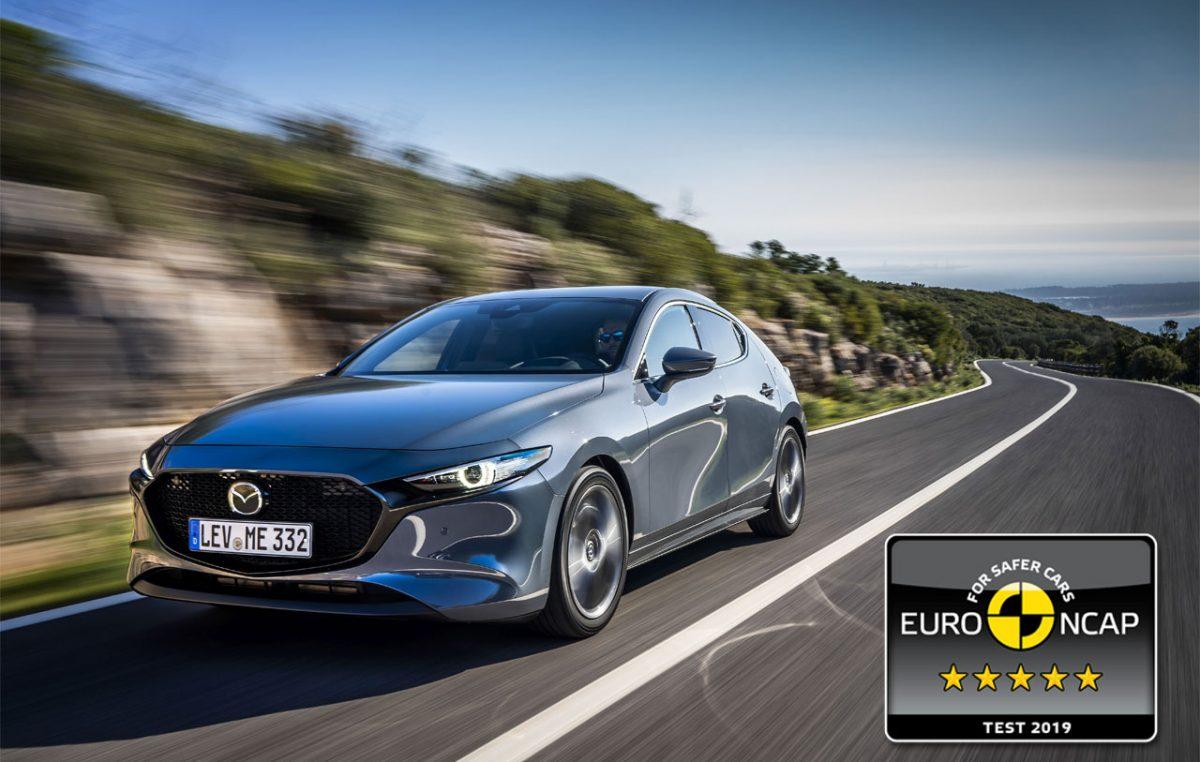 Πεντάστερο σε ασφάλεια και το Mazda3! (video από τα crash test)