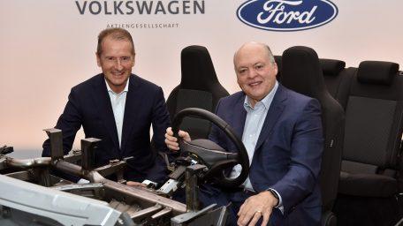 Ford – Volkswagen: Διευρύνουν την παγκόσμια συνεργασία τους