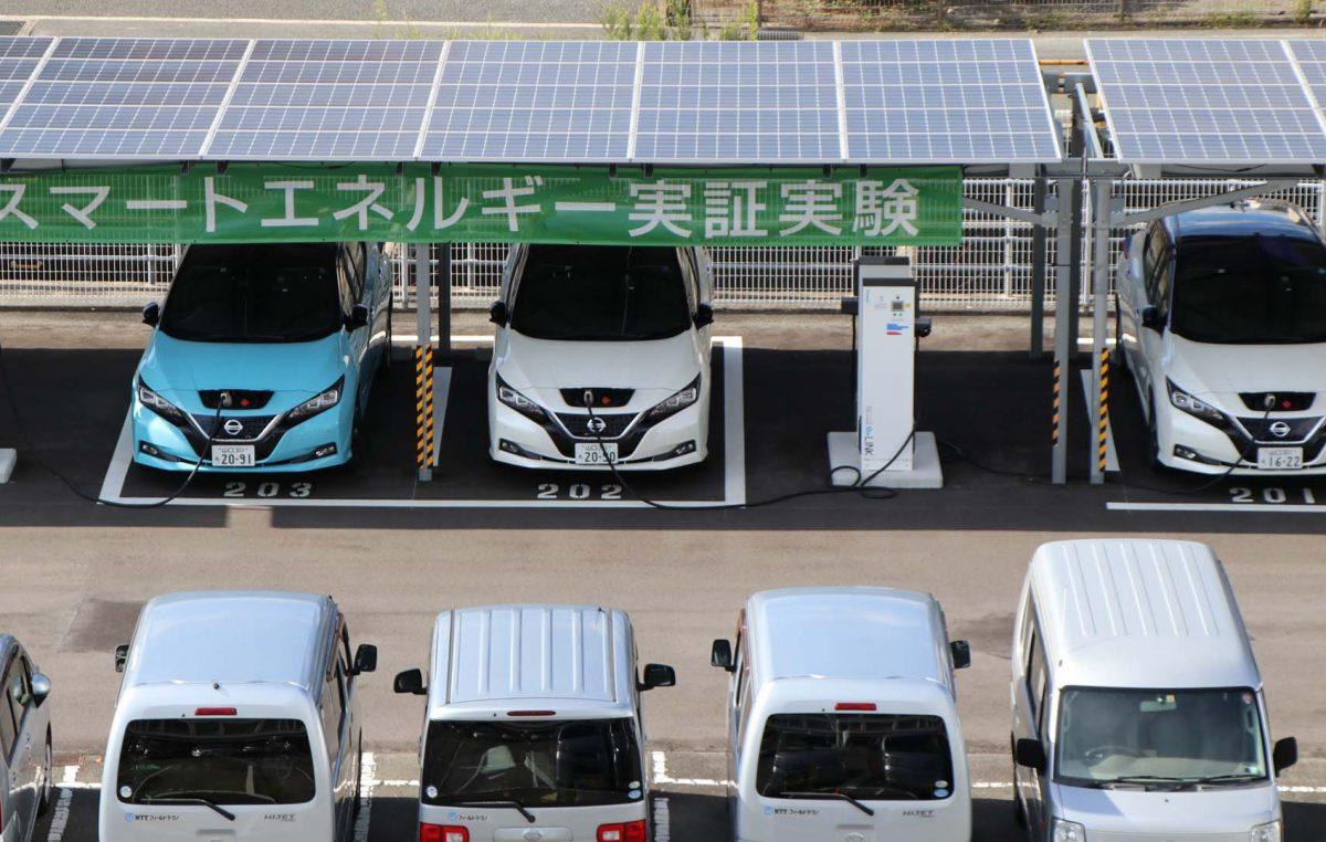 Τα ηλεκτρικά οχήματα της  Nissan συμβάλλουν στην εξοικονόμηση της ενέργειας