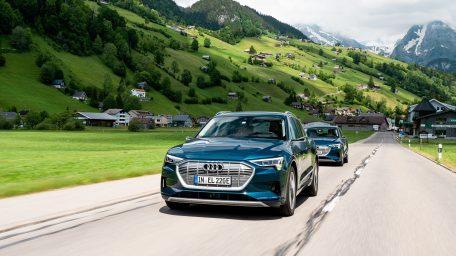 Το Audi e-tron καταρρίπτει μύθους: Δέκα χώρες non-stop σε 24 ώρες