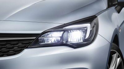 Νέα Opel Corsa και Astra με Ενεργειακά Αποδοτικούς Προβολείς LED
