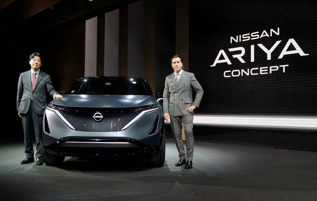 To Nissan Ariya concept δεν θα είναι το νέο QASHQAI!