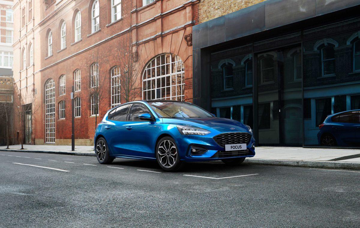 Αναβαθμισμένο Ford Focus με ήπια υβριδικούς κινητήρες EcoBoost Hybrid