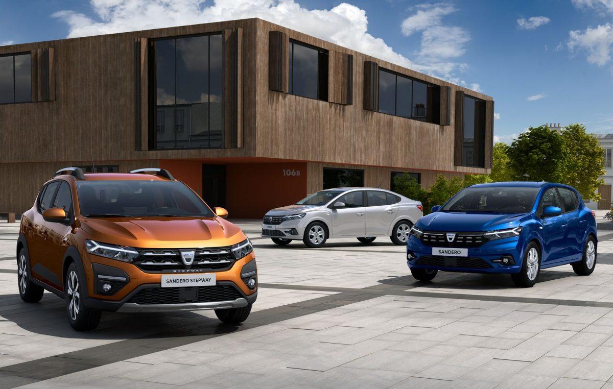 H Dacia αποκαλύπτει τα All-new SANDERO, SANDERO STEPWAY & LOGAN,