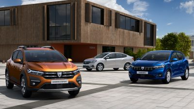 H Dacia αποκαλύπτει τα All-new SANDERO, SANDERO STEPWAY & LOGAN,