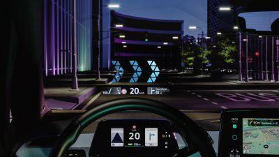 Η Volkswagen καλωσορίζει το μέλλον: head-up display επαυξημένης πραγματικότητας