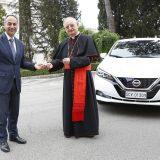 Το Βατικανό κινείται ηλεκτρικά με Nissan LEAF